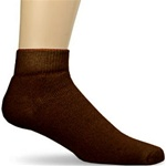 Brown Ankle Socks