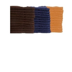 3/4 lb. Colored Washcloth 12X12