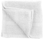 1 lb. White Washcloth 12X12