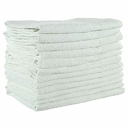 20X40 White Bath Towel 4 lbs. per dozen