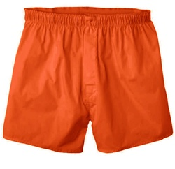 boxer short-orange Extra large boxers