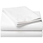 White Percale Flat Sheets