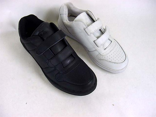 Men's Leather Velcro Sneaker