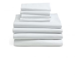 White Percale Pillowcase