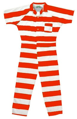 Inmate Striped Jumpsuits