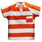 Inmate Striped Shirts